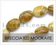 Brecciated Mookaite Beads